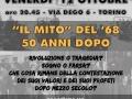 12 ottobre 2018 Torino - Il mito del '68 cinquant'anni dopo
