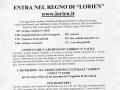"""2004 - Volantino - Entra nel regno di """"Lorien"""""""
