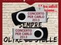 """gennaio 2014 - pubblicità per l'uscita delle chiavette usb con il video del """"Concerto per carlo 2013"""""""