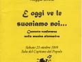 28 ottobre 1999 Reggio Emilia - Presentazione della Lorien