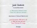 16 dicembre 1999 - Senago (MI) - Presentazione della Lorien