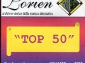 """2000 - Aa. Vv. """"Top 50"""" - CD MP3 - Omaggio per gli iscritti Lorien del 2001"""