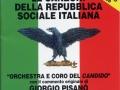 """2011 - CD.LOR.009 - Coro e Orchestra del Candido """"Le canzoni della Repubblica Sociale Italiana"""" - CD"""