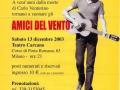 13 dicembre 2003 Milano - Tributo a Carlo