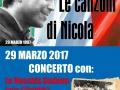 29 marzo 2017 Verona - Le canzoni di Nicola